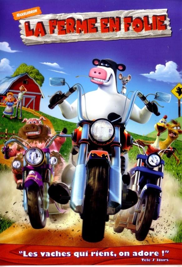 Vid os pour enfants de la ferme en folie - Vache en folie ...