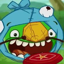 épisode d'Angry Birds : Comme un bleu