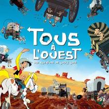 Tous à l'Ouest: une aventure de Lucky Luke