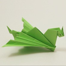 Le dragon facile origami
