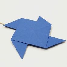 Le moulin origami