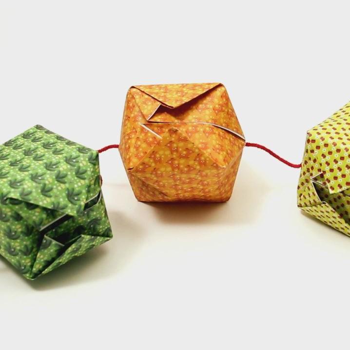 Origami guirlande