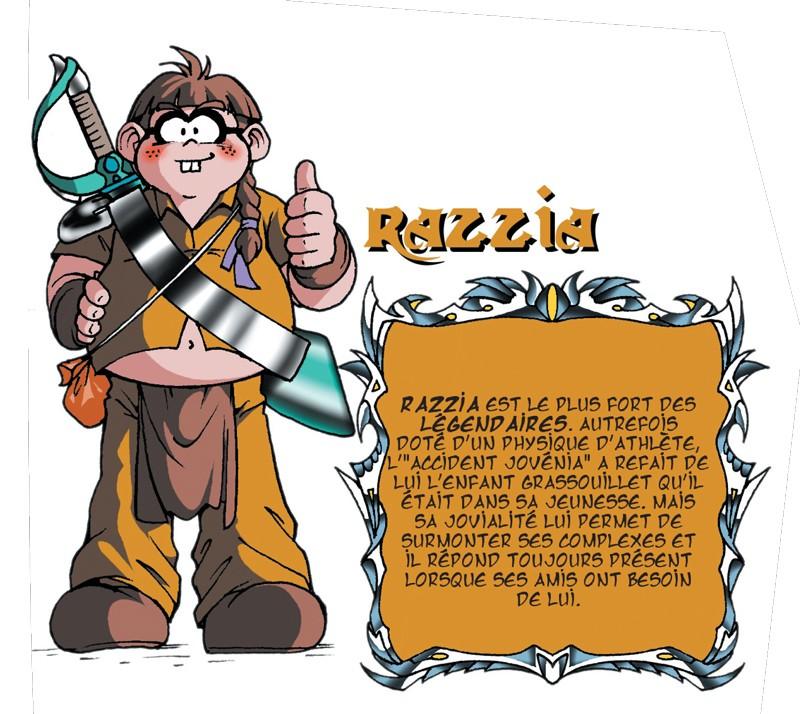 Razzia - Les légendaires