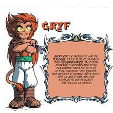 Gryf - Les légendaires