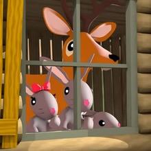 Dans sa maison un grand cerf...