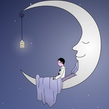 Comptine : Au clair de la Lune