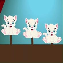 Trois petits chats (version 2)