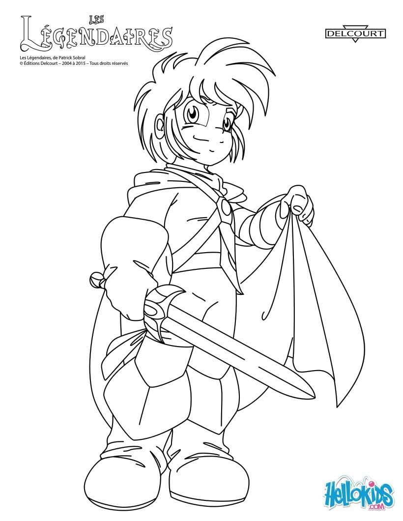 coloriages personnages de bd fr hellokids com