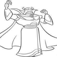 Coloriage Disney : Zurg