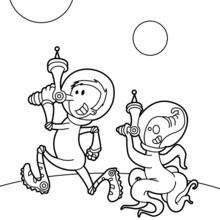 La brigade de l'espace