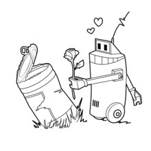 Robot conserve
