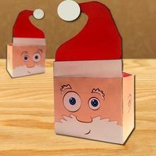 Activité : Boîte en forme de tête de Père Noël
