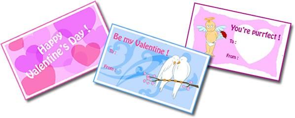Activité : Cartes de St Valentin