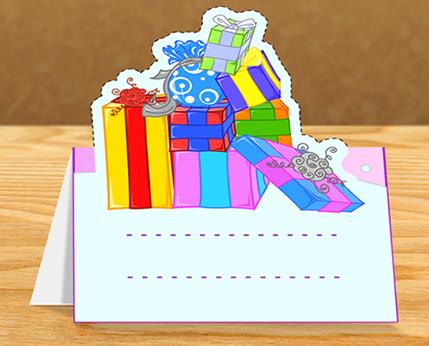 Activité : Cartes renne et cadeaux de Noël