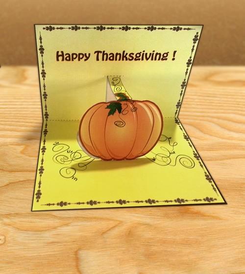 Activité : Invitation à dîner pour Thanksgiving
