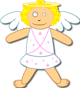 Activité : Marionnette articulée Ange de Noël