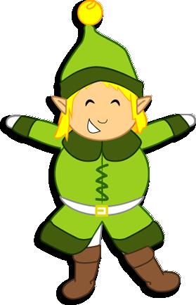 Activité : Marionnette articulée Lutin du Père Noël