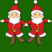 Activité : Marionnette articulée Père Noël