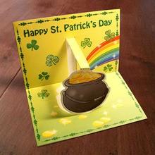 Fiche bricolage : Carte chaudron pour le St Patrick
