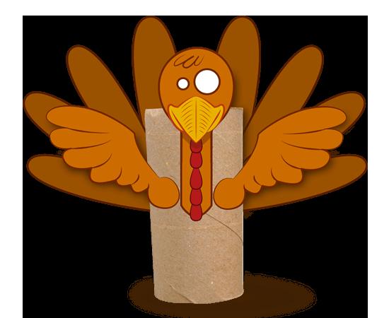 Activit s manuelles rond de serviette pour thanksgiving - Clipart bricolage ...