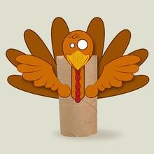 Fiche bricolage : Rond de serviette pour Thanksgiving