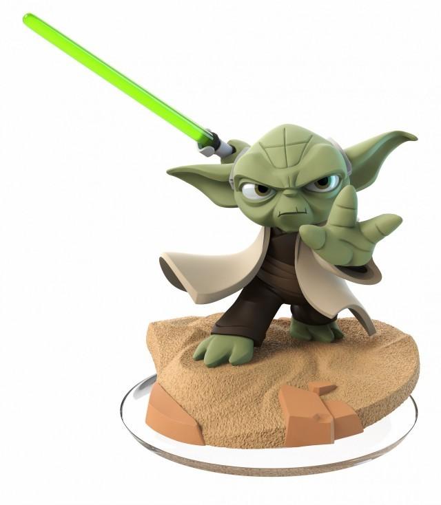 Figurine Yoda dans Disney Infinity 3.0