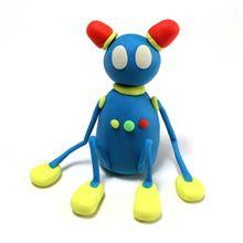Robot en pâte à modeler