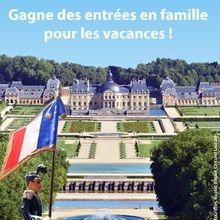 Gagnants des invitations au Château de Vaux-le-vicomte