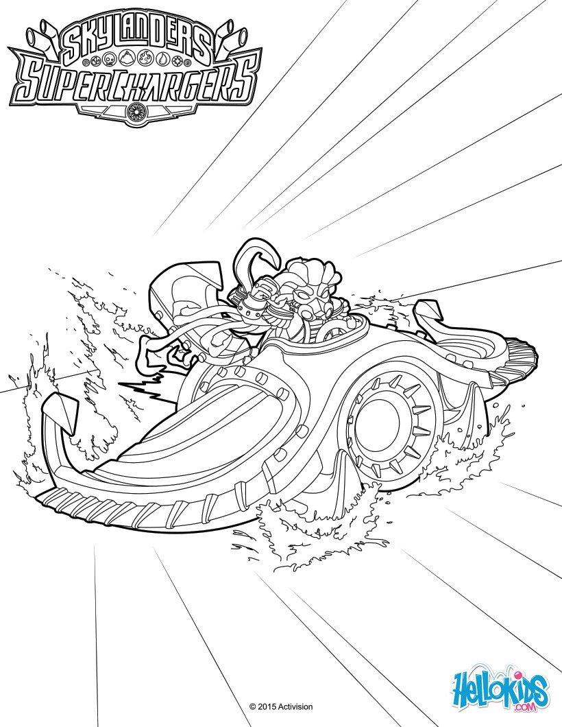 skylanders coloring pages spitfire fargo - photo#25