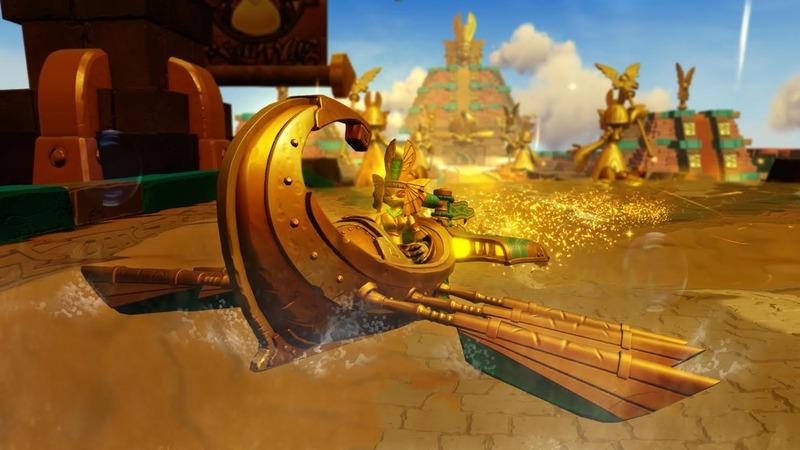 Skylanders Superchargers : Golden Queen
