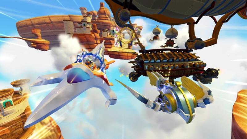 Skylanders Superchargers : Course dans les airs