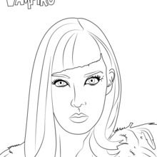 Coloriage : Catalina