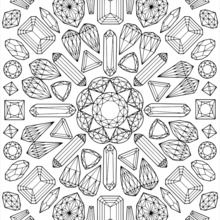Mandala graphique