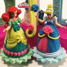 Robes de princesses en pâte à modeler