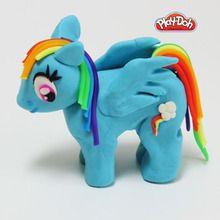 Rainbow Dash en pâte à modeler