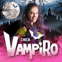 vampire, Coloriages de CHICA VAMPIRO