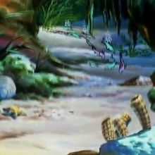 Dessin animé : Episode 17 - La tortue géante