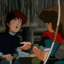 épisode de Robin des bois : Episode 21 - Le Roi de la forêt