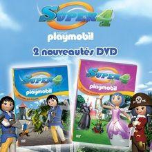 Gagnants des DVD de Super 4 Playmobil