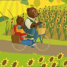 épisode de petit ours brun : Petit Ours brun va à la pêche
