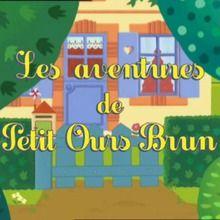 épisode de petit ours brun : Petit Ours brun attend Noël