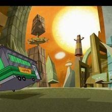Dessin animé : Amitié fusionnelle / Un tour de bus
