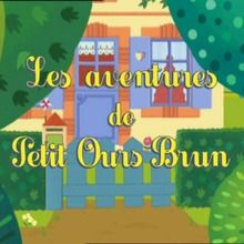 épisode de petit ours brun : Petit Ours brun peint partout