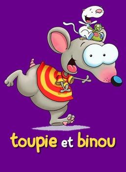 Toupie et Binou en dessins animés