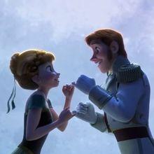 La Reine des Neiges, L'amour est un cadeau