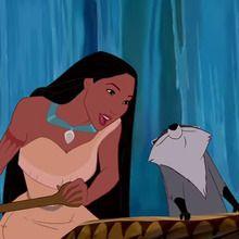 Pocahontas, Au détour de la rivière