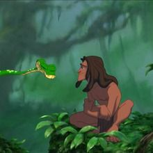 Tarzan, Enfant de l'homme