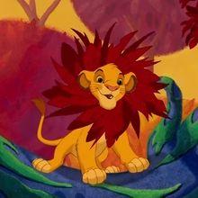 Le Roi Lion, je voudrais déjà être roi
