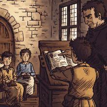 Comment vivaient les écoliers au Moyen Âge