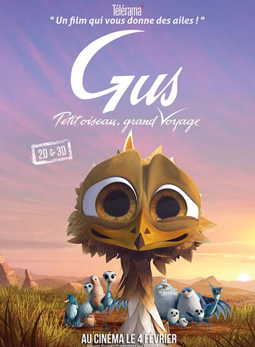 Vidéos Gus, petit oiseau, grand voyage